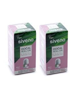 Siveno Roll-on Doğal Kadın 50ml x 2 adet,RNKSZ